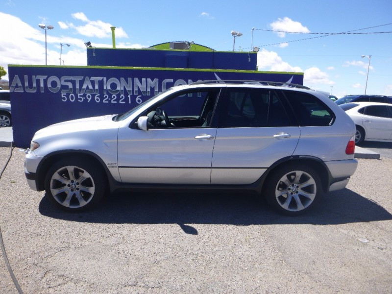 2006 BMW X5 48IS SILVER 96208 miles Stock N0012 VIN 5UXFA93556LE84226
