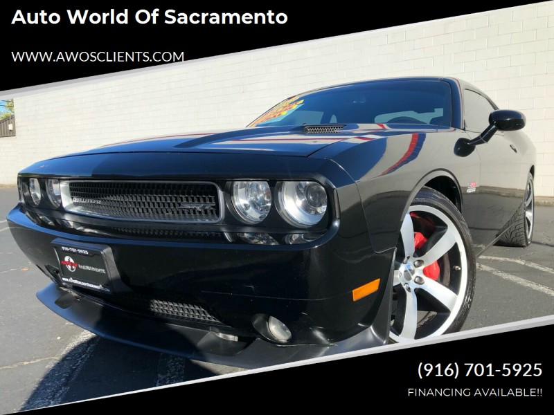 2012 dodge challenger srt8 392 2dr coupe cars - sacramento, ca at geebo