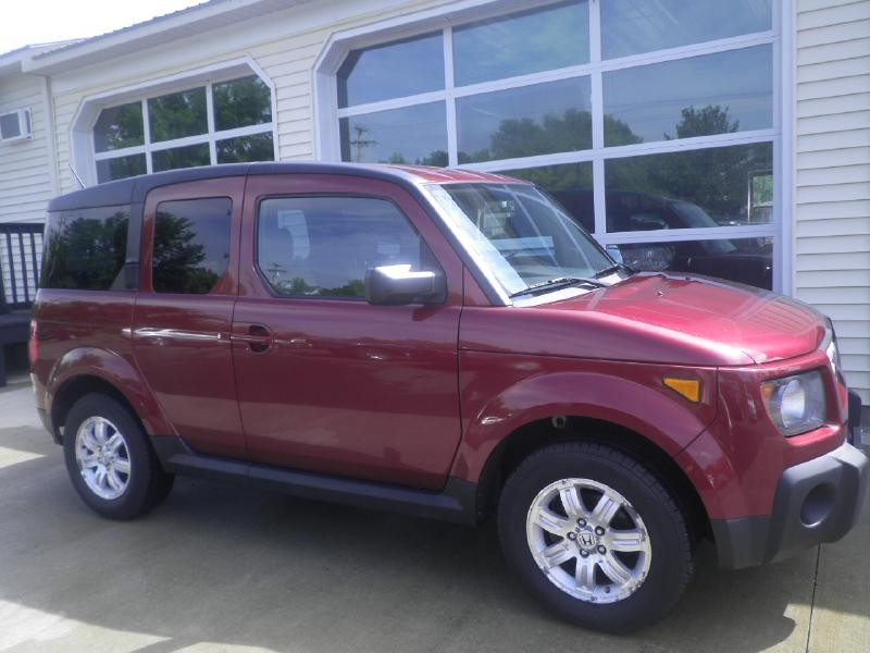 2008 honda element ex red 2008 honda element car for sale in barre vt 4301545393 used cars. Black Bedroom Furniture Sets. Home Design Ideas