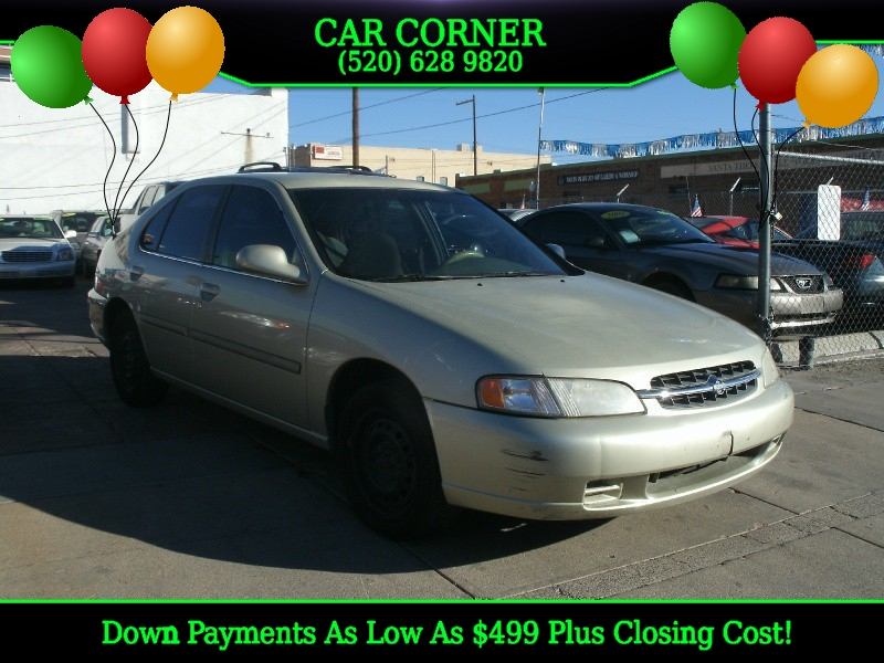 1999 Nissan Altima 4dr Sdn GXE Manual This Nissan Altima is ready to roll today and qualifies for a