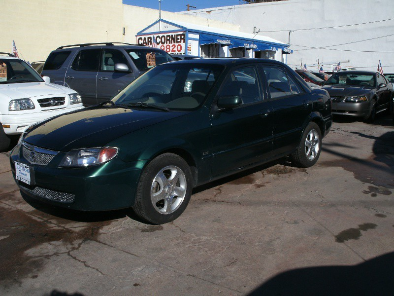 2002 Mazda Protege 4dr Sdn LX Manual This Mazda Protege is ready to roll today and qualifies for a