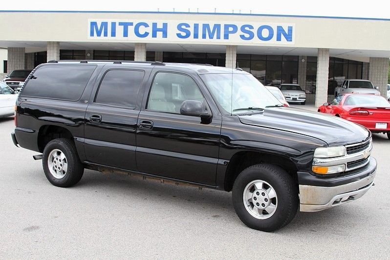 Purchase used 2003 CHEVROLET SUBURBAN LT 4x4 BLACK WITH TAN LEATHER on 2003 suburban sub box, 2003 suburban vapor canister, 2003 suburban drive shaft, 2003 suburban specifications, 2003 suburban tires, 2003 suburban oil sending unit, 2003 suburban exhaust, 2003 chevy silverado electrical diagram, 2003 suburban wheels, 2003 suburban radio fuse, 2003 suburban fuel tank, 2003 suburban controls, 2003 suburban battery, 2003 suburban frame, 2003 suburban power steering, 2003 suburban rear suspension, 2003 suburban brochure, 2003 suburban horn, 2003 suburban solenoid, 2003 suburban brakes,