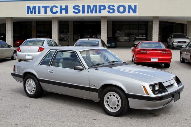 1985 ford mustang lx coupe 5 0l super clean only 72k miles for Mitch simpson motors cleveland ga
