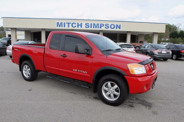 2008 nissan titan king cab pro 4x off road 4x4 loaded up for Mitch simpson motors cleveland ga