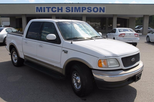 2002 ford f 150 lariat supercrew loaded good truck for low for Mitch simpson motors cleveland ga
