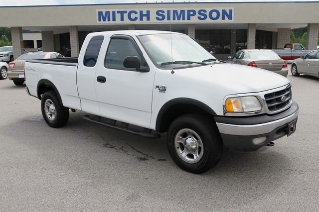 2000 ford f 150 xl supercab 4x4 work truck bedliner cold for Mitch simpson motors cleveland ga