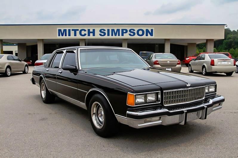1986 chevrolet caprice ebay for Mitch simpson motors cleveland ga