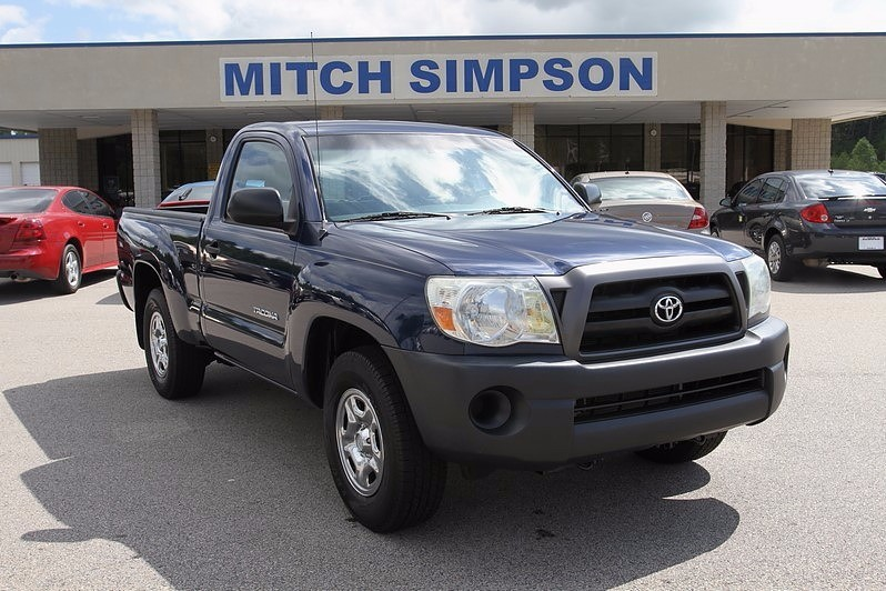 Toyota tacoma base standard cab pickup 2 door for Mitch simpson motors cleveland ga