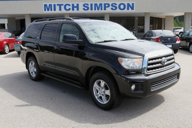 2008 Toyota Sequoia Sr5 Sunroof Dvd Fully Loaded Perfect