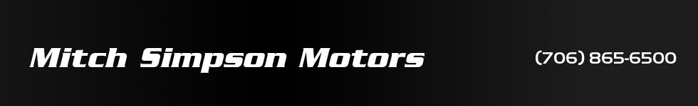 Mitch Simpson Motors. (706) 865-6500