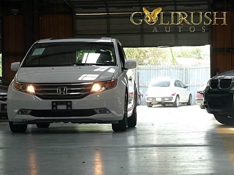 2012 Honda Odyssey 4dr Wgn EX-L wRES 29284 miles Stock 044200 VIN 5FNRL5H63CB044200