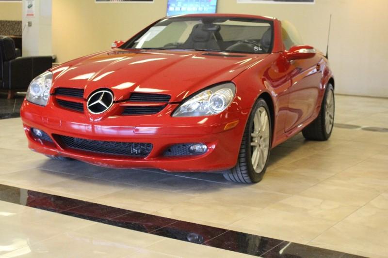 2008 Mercedes SLK-Class 2dr Roadster 30L 48916 miles Stock 182410 VIN WDBWK54F68F182410