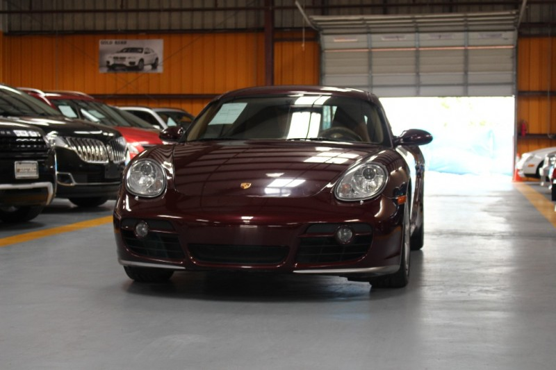 2006 Porsche Cayman 2dr Cpe S Burgundy Tan 99754 miles Stock 783239 VIN WP0AB29876U783239