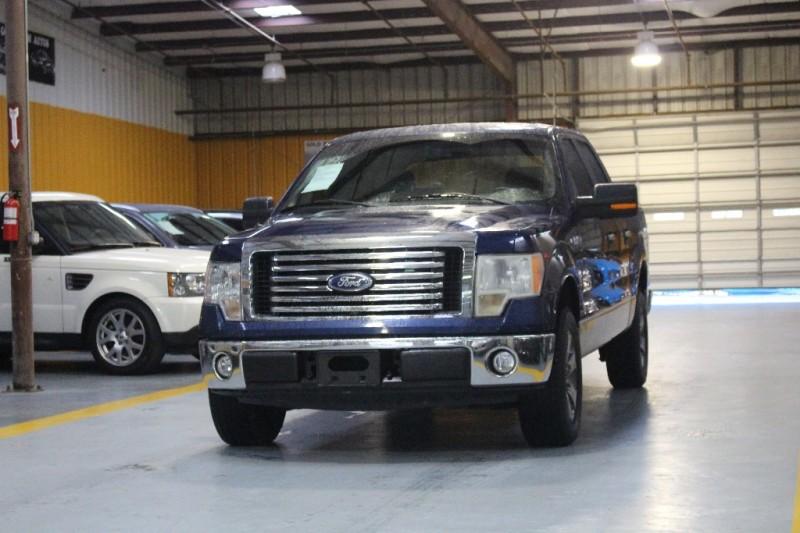 2009 Ford F-150 Blue Beige 97100 miles Stock A74028 VIN 1FTRW12859KA74028