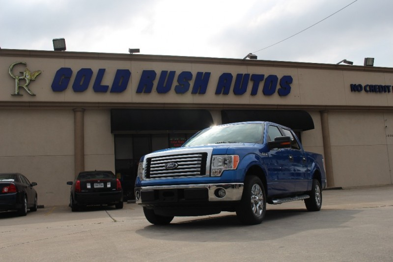 2011 Ford F-150 Blue Beige 82303 miles Stock D27585 VIN 1FTFW1CF1BFD27585
