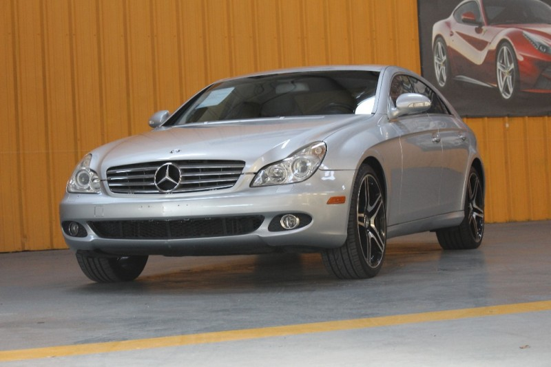 2007 Mercedes CLS-Class 4dr Sdn 55L Silver Gray 84998 miles Stock 097974 VIN WDDDJ72X47A09