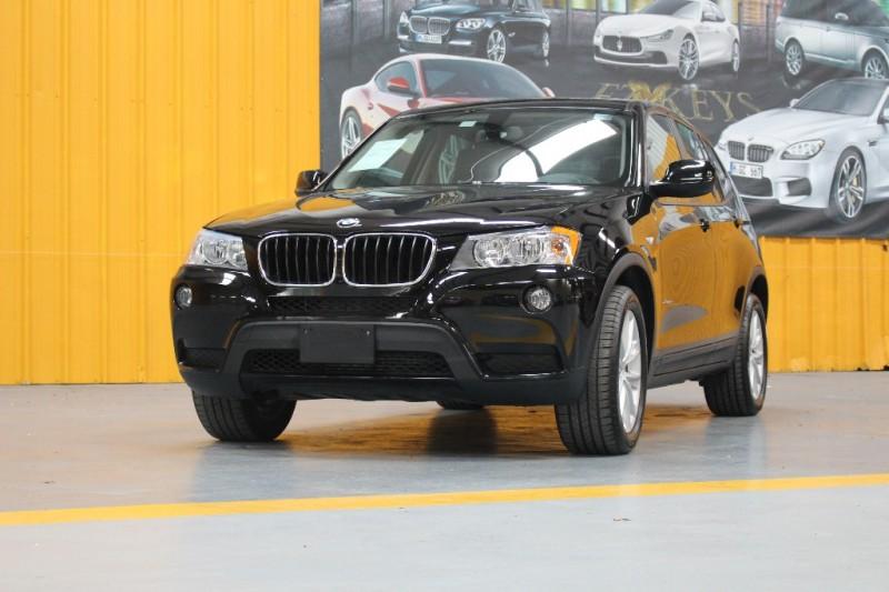 2013 BMW X3 AWD 4dr 28i Black Black 39101 miles Stock A11528 VIN 5UXWX9C56D0A11528