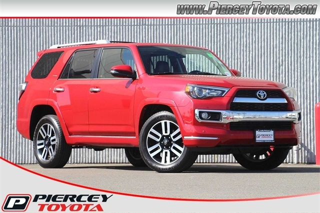 2016 toyota 4runner limited cars - milpitas, ca at geebo