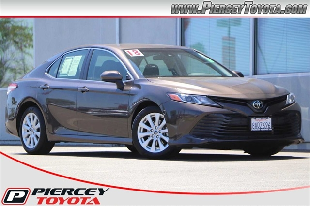 2018 toyota camry le cars - milpitas, ca at geebo