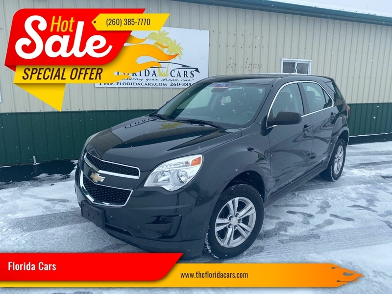 2014 chevrolet equinox ls 4dr suv cars - columbia city, in at geebo