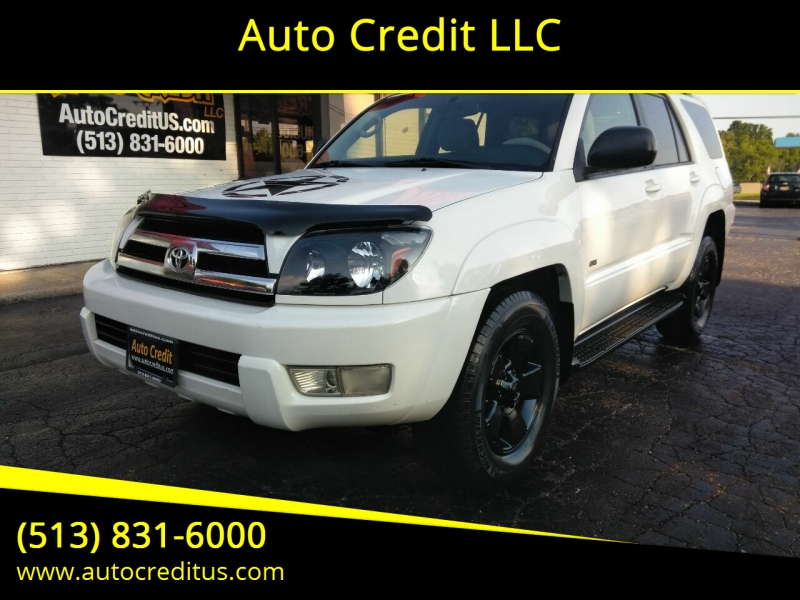2005 toyota 4runner sport edition 4dr suv cars - milford, oh at geebo