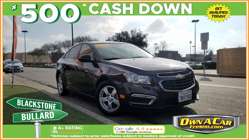 2015 chevrolet cruze lt cars - fresno, ca at geebo