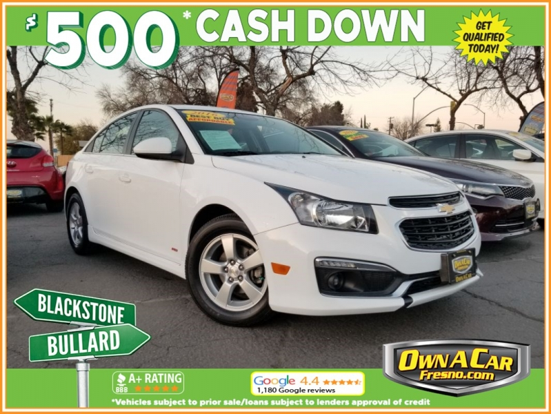2016 chevrolet cruze limited lt cars - fresno, ca at geebo