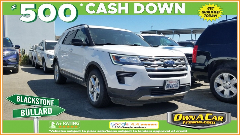 2018 ford explorer xlt cars - fresno, ca at geebo