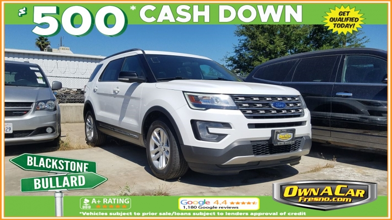 2017 ford explorer xlt cars - fresno, ca at geebo