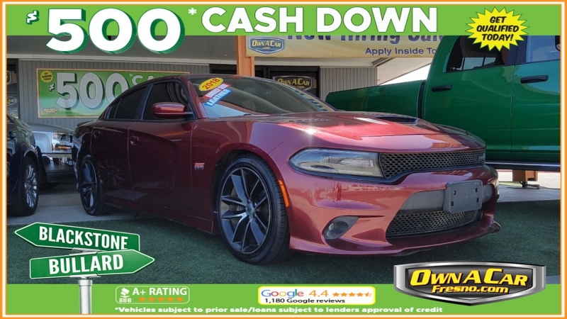 2018 dodge charger r t scat pack cars - fresno, ca at geebo