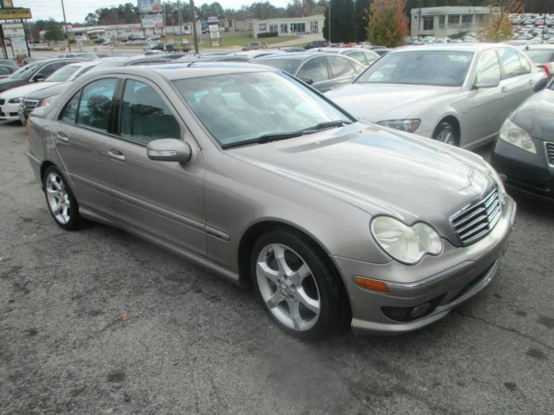 2007 mercedes benz c class c230 sport 4dr sedan grey for 2007 mercedes benz c class c230