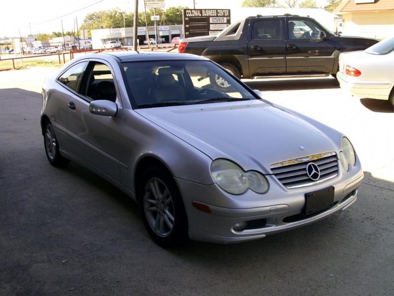 2002 mercedes c230 coupe super clean silver 2002 for Mercedes benz arlington tx
