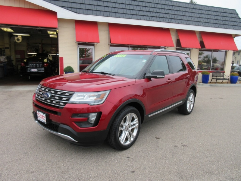 2016 ford explorer xlt 4x4 suv cars - middleton, wi at geebo