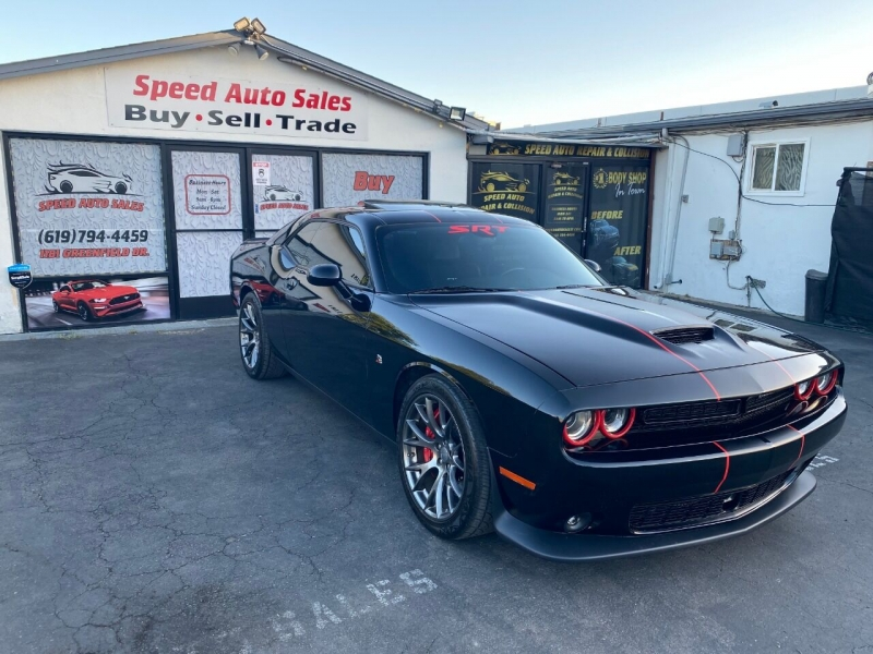 2016 dodge challenger srt 392 2dr coupe cars - el cajon, ca at geebo