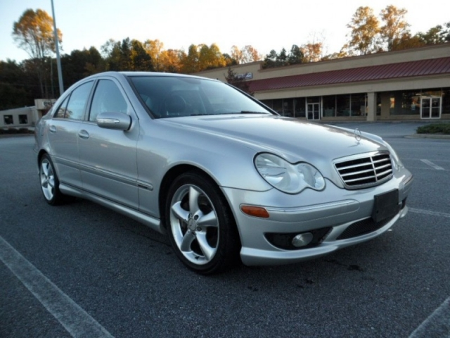2005 mercedes benz c230 sport kompressor 1 owner for Mercedes benz c230 kompressor 2005