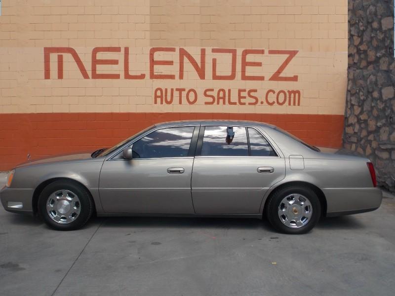 2002 cadillac deville 4dr sdn inventory melendez auto