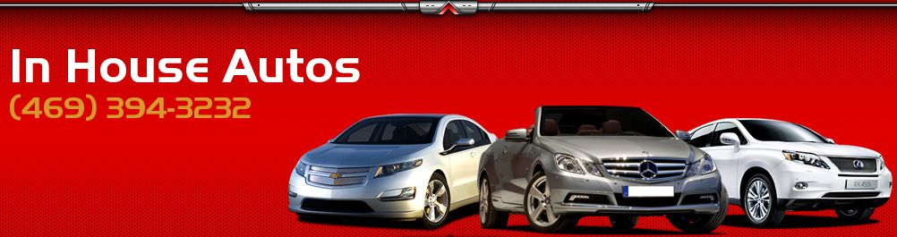 In House Autos. (469) 394-3232