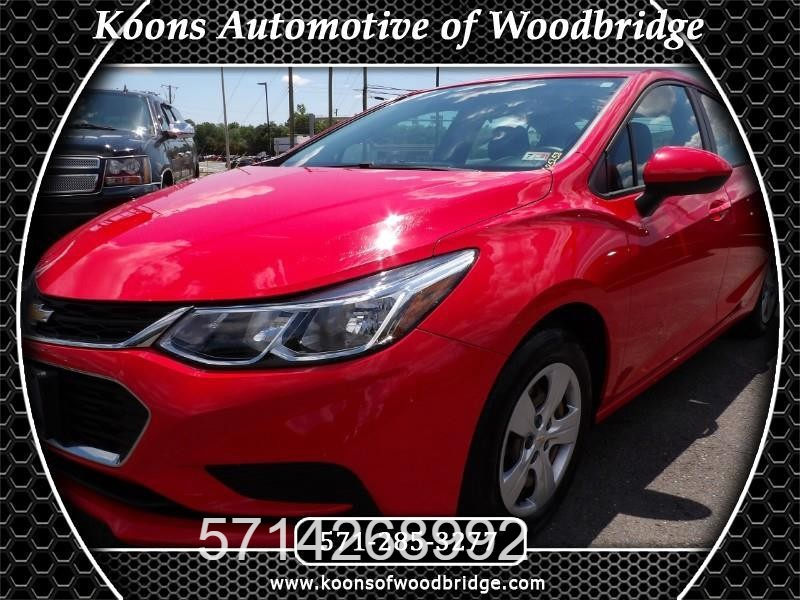 2017 chevrolet cruze ls auto cars - woodbridge, va at geebo
