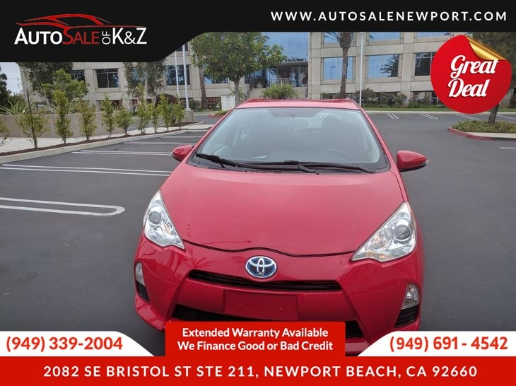 2016 toyota prius c two cars - newport beach, ca at geebo
