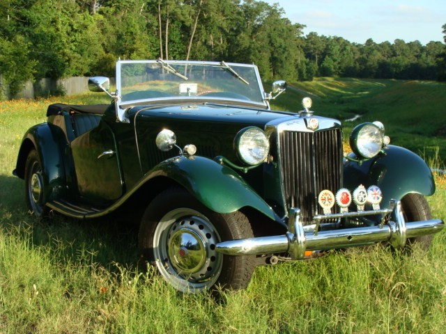 Find used 1951 MG TD - Moss 5 Speed! Rebuilt Engine! Turn