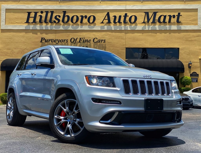 2012 jeep grand cherokee srt8 470hp brembo clean carfax we finance best price cars - tampa, fl at geebo