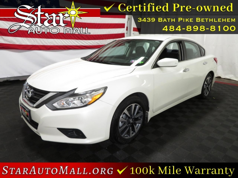 2017 nissan altima 2.5 sv sedan cars - bethlehem, pa at geebo