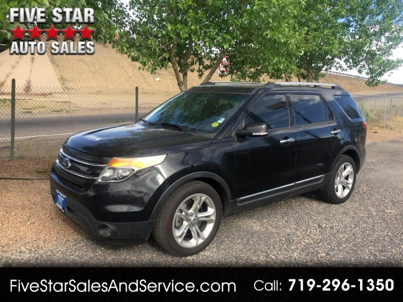 2014 ford explorer 4dr limited 2wd cars - pueblo, co at geebo