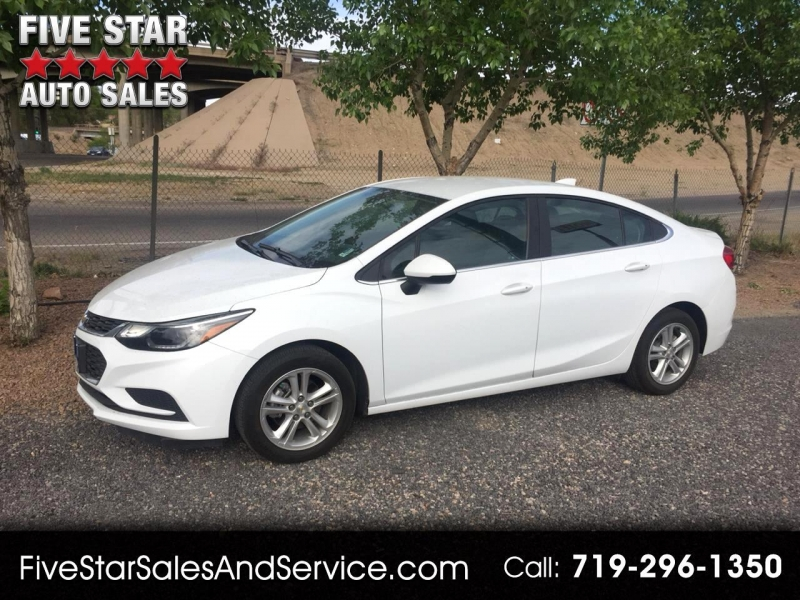 2017 chevrolet cruze lt 4dr sedan cars - pueblo, co at geebo