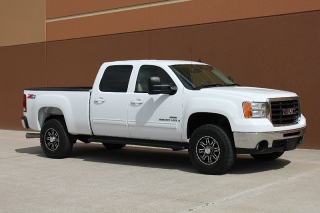2008 gmc sierra 2500hd slt 4wd crew cab 4x4 diesel inventory texas etrucks truck. Black Bedroom Furniture Sets. Home Design Ideas