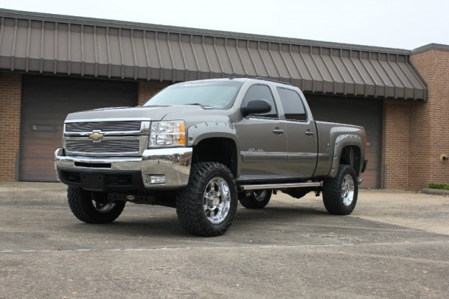 Lifted Regency Ltz 2008 Silverado 2500 4x4 Diesel Z71