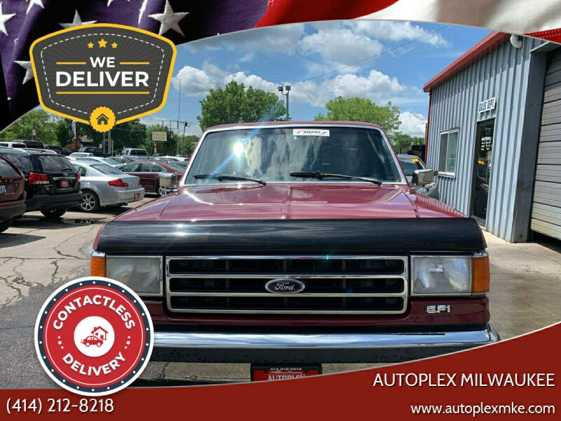 1990 ford f-150 xlt lariat 2dr standard cab sb cars - milwaukee, wi at geebo