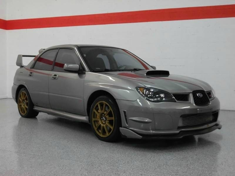 $19,988, 2006 Subaru Impreza WRX STI AWD GOLD WHEELS AFTERMARKET MODS
