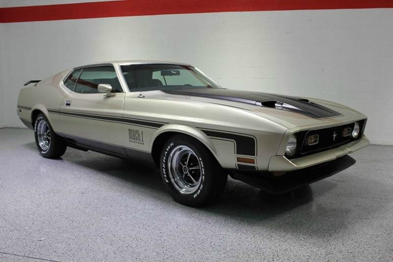 $44,500, 1971 Ford Mustang MACH I BIG BLOCK 429 COBRA JET RAM AIR