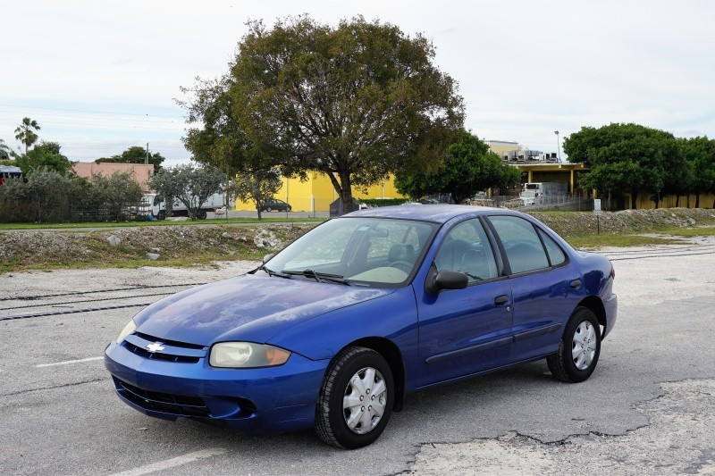 2003 Chevrolet Cavalier 4dr Sdn Blue Gray 196229 miles Stock 158983 VIN 1G1JC52F037158983